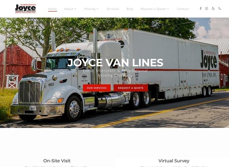joyce van lines snapshot