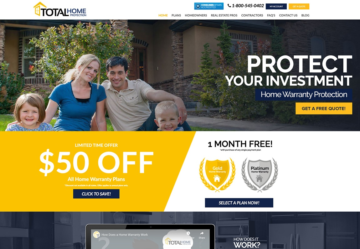 total home protection snapshot